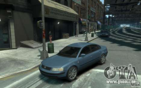 Volkswagen Passat B5 Final pour GTA 4