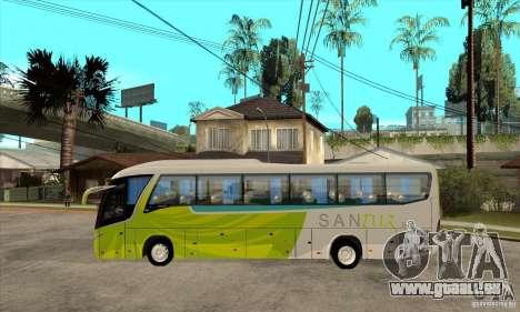 Marcopolo Viaggio G7 1050 Santur pour GTA San Andreas laissé vue