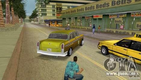 Cabbie HD für GTA Vice City zurück linke Ansicht
