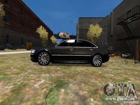 Audi A8L W12 pour GTA 4 est une gauche