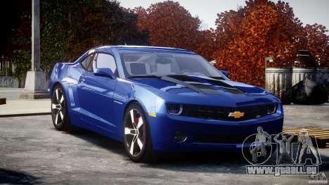 Chevrolet Camaro v1.0 für GTA 4 Rückansicht