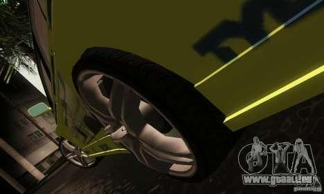 Mitsubishi Lancer Evolution 8 pour GTA San Andreas vue intérieure