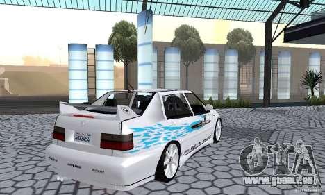 Volkswagen Jetta FnF pour GTA San Andreas laissé vue