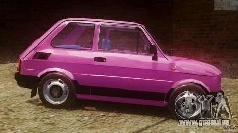 Fiat 126p FL Polski 1994 Wheels 1 für GTA 4 linke Ansicht