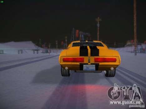 Shelby GT500 Eleanor pour GTA San Andreas vue de côté
