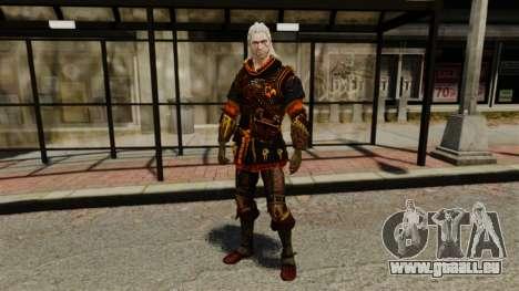 Geralt de Rivia v2 pour GTA 4