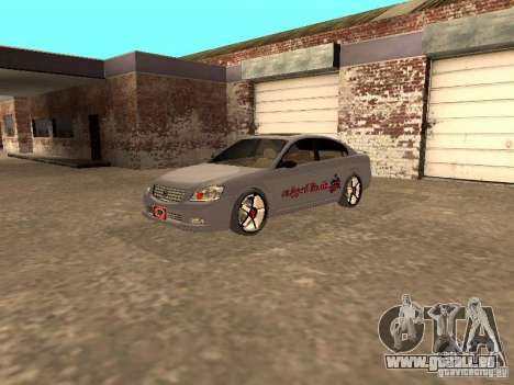 NISSAN ALTIMA pour GTA San Andreas