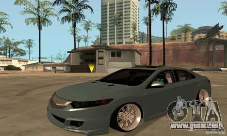 Acura TSX 2010 pour GTA San Andreas