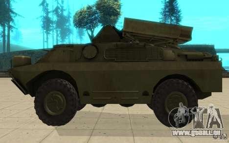 9 k 31 Strela-1 Standard pour GTA San Andreas laissé vue