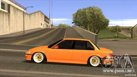Honda Civic EF9 Sedan für GTA San Andreas linke Ansicht