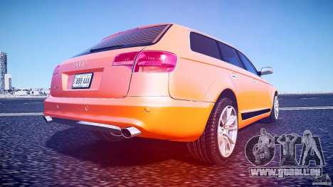 Audi A6 Allroad Quattro 2007 wheel 2 für GTA 4 Unteransicht