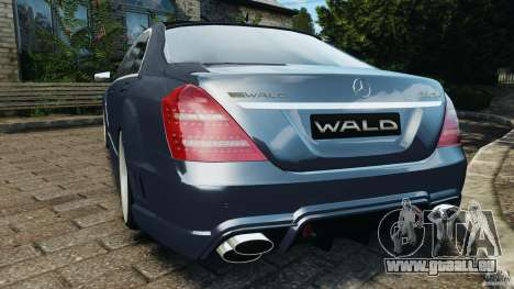 Mercedes-Benz S W221 Wald Black Bison Edition für GTA 4 hinten links Ansicht