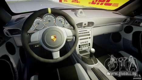 Porsche 997 GT3 RS pour GTA 4 Vue arrière