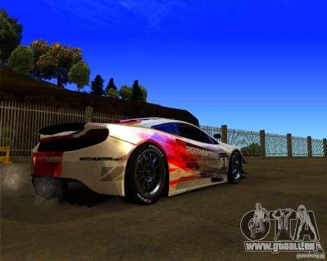 McLaren MP4 - SpeedHunters Edition pour GTA San Andreas vue de droite