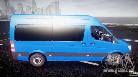 Mercedes-Benz ASM Sprinter Ambulance für GTA 4 Seitenansicht