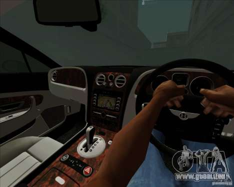 Bentley Continental GT V1.0 für GTA San Andreas obere Ansicht