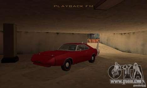 Dodge Charger Daytona 1969 pour GTA San Andreas