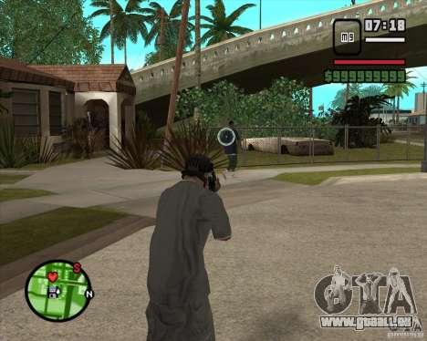GTA IV Target v.1.0 pour GTA San Andreas deuxième écran