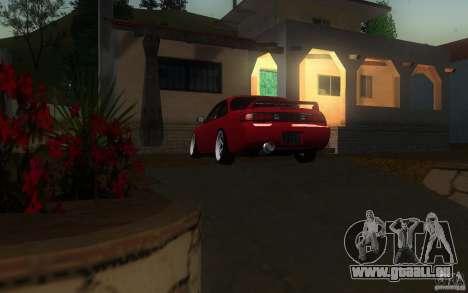 Nissan Silvia S14 pour GTA San Andreas vue intérieure