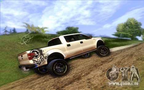 Ford F-150 Carryer Metal Mulisha für GTA San Andreas linke Ansicht