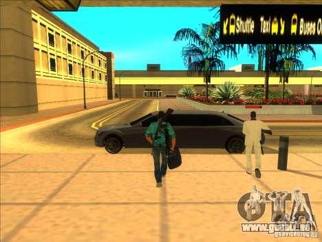 Tommy Vercetti pour GTA San Andreas deuxième écran