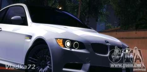 BMW E92 v2 Updated pour GTA San Andreas vue intérieure