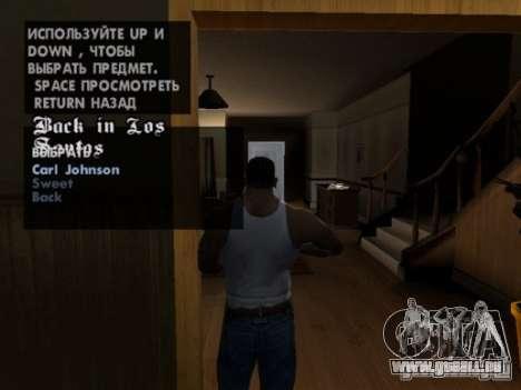 Répétez toute mission pour GTA San Andreas deuxième écran