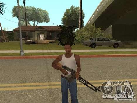 Leichtes Maschinengewehr Dâgterëva für GTA San Andreas her Screenshot