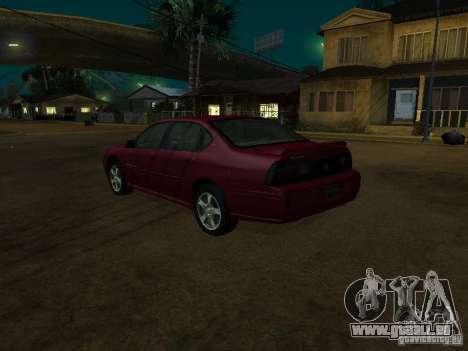 Chevrolet Impala 2003 für GTA San Andreas linke Ansicht