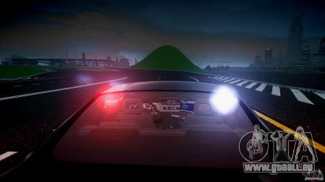Saleen S281 Extreme Unmarked Police Car - v1.2 pour GTA 4 roues