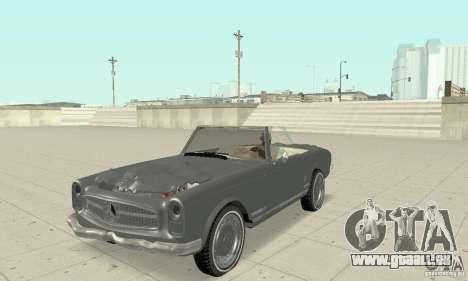 Mercedes-Benz 280SL (Matt) pour GTA San Andreas vue de côté