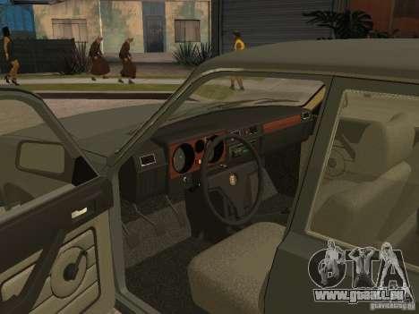 GAZ 31029 für GTA San Andreas Rückansicht