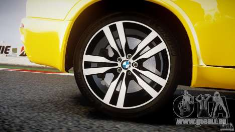 BMW X5M Chrome pour GTA 4 roues