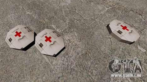 Nouvelle zone de cache Kit Halo pour GTA 4 troisième écran