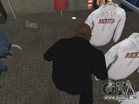 Nouvelles textures d'argent pour GTA San Andreas deuxième écran