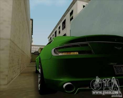 Aston Martin Rapide 2010 V1.0 für GTA San Andreas Seitenansicht