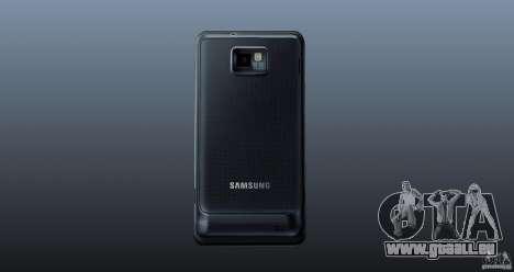 Samsung Galaxy S2 pour GTA 4 troisième écran