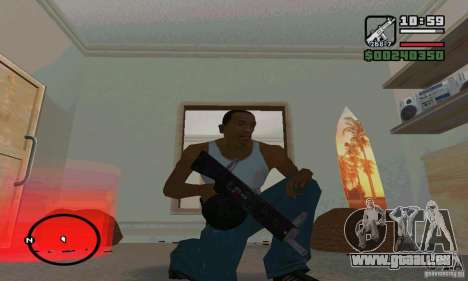 Die AA-12 Schrotflinte für GTA San Andreas dritten Screenshot