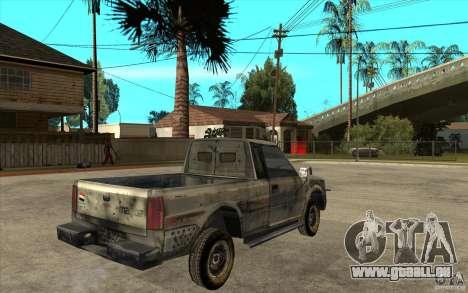 Rusty Mazda Pickup für GTA San Andreas rechten Ansicht