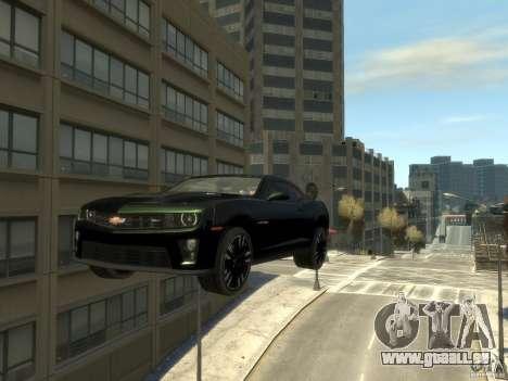 Chevrolet Camaro ZL1 v1.0 pour GTA 4 Vue arrière de la gauche