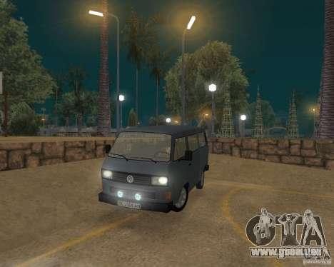 Volkswagen Transporter T3 für GTA San Andreas linke Ansicht