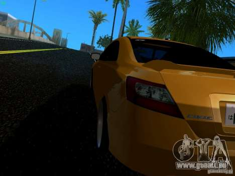 Honda Civic Si JDM pour GTA San Andreas laissé vue