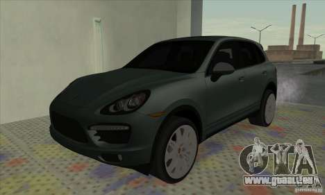 Porsche Cayenne Turbo 2012 für GTA San Andreas