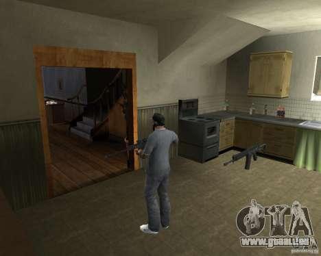 Fusil AS 50 pour GTA San Andreas deuxième écran