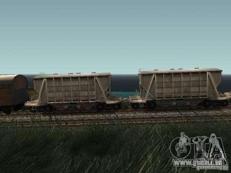 Trémie de ciment pour GTA San Andreas laissé vue