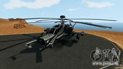 KA-50 Black Shark Modified pour GTA 4