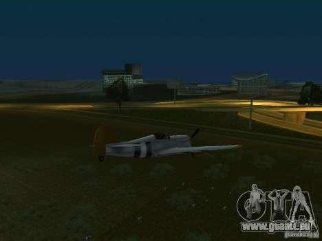 Bombes pour avions pour GTA San Andreas troisième écran