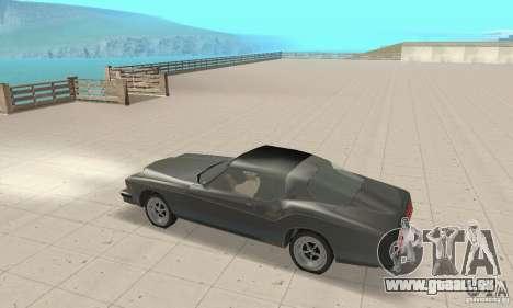 Buick Riviera 1973 pour GTA San Andreas vue arrière