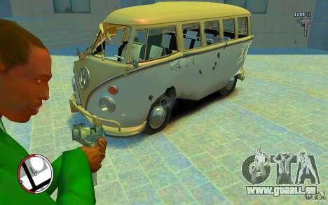 Volkswagen T1 Bus 1967 für GTA 4 Seitenansicht