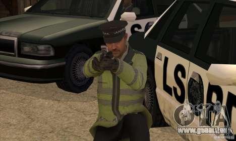 Une nouvelle Police pour GTA San Andreas